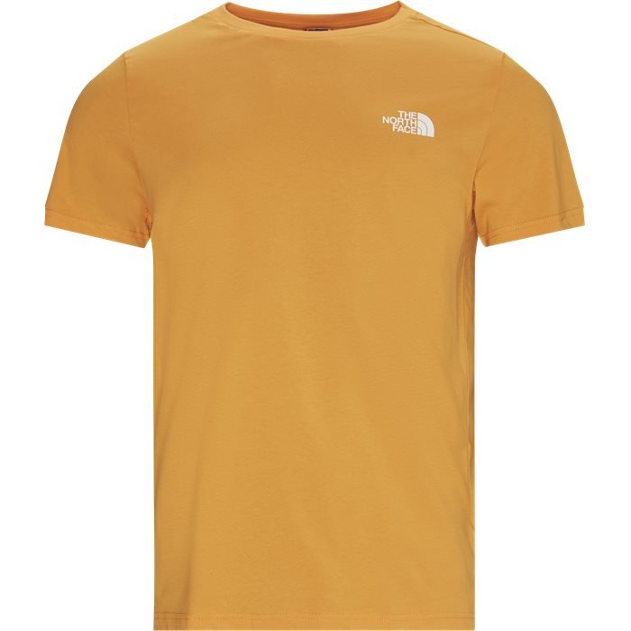 SS Simple Dome Tee - T-shirts - Orange