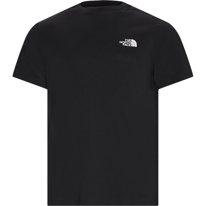 SS Simple Dome Tee - T-shirts - Sort