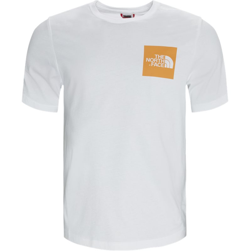 the north face The north face ss fine box tee hvid på quint.dk