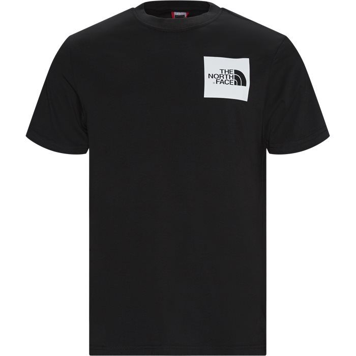 SS Fine Box Tee - T-shirts - Regular - Sort