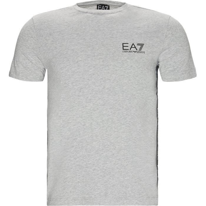 PJ03Z Logo Tee - T-shirts - Grå