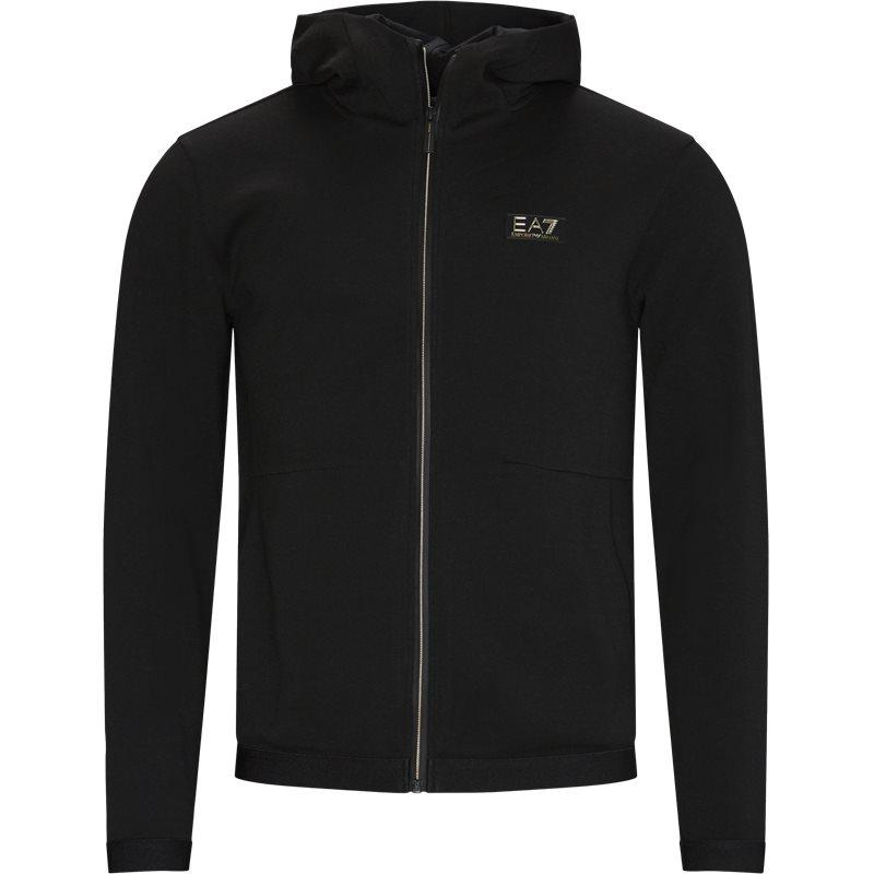 Ea7 pj4ez zip sweatshirt sort fra ea7 fra quint.dk