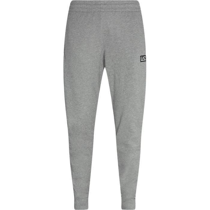 Trousers - Tailored fit - Grey
