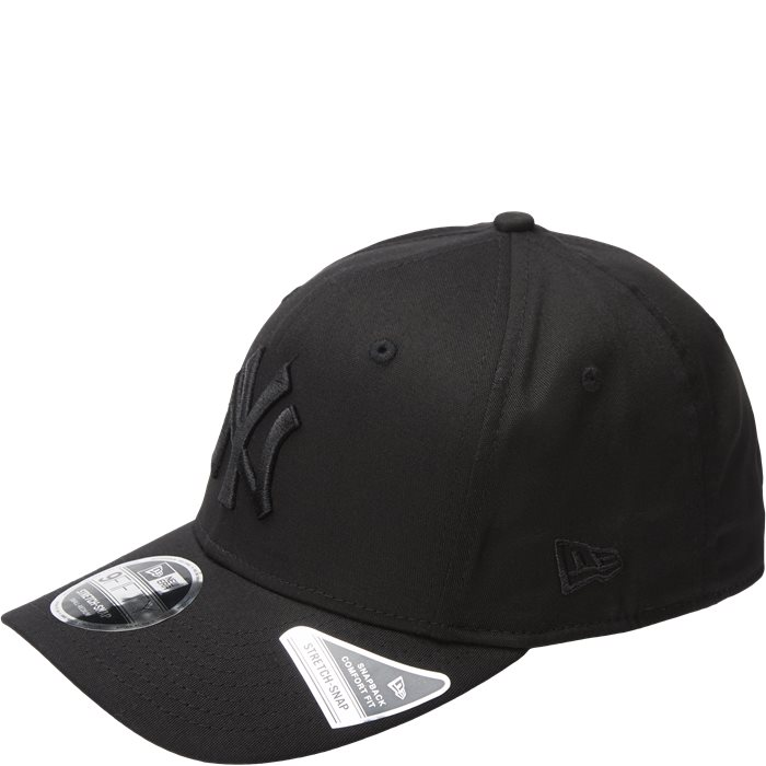 9 Fifty Stretch Cap - Caps - Sort