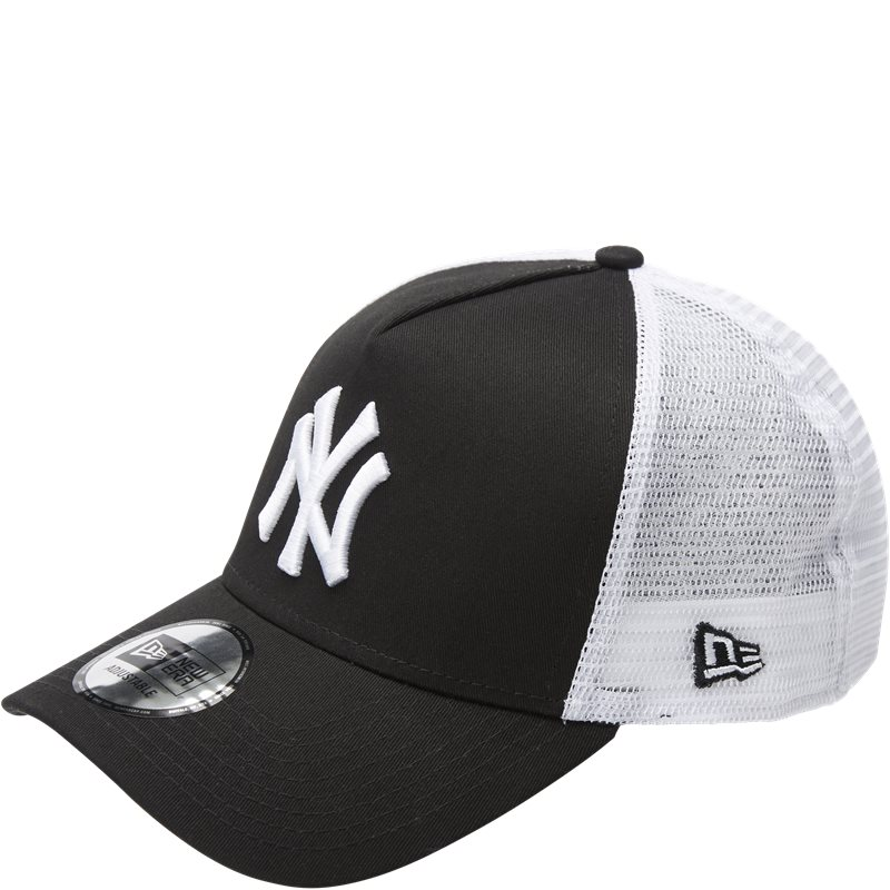 Image of   New Era Trucker Clean Cap Sort/hvid