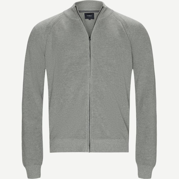 Sanborn Cardigan - Strik - Regular - Grå