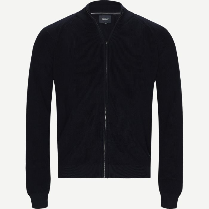 Sanborn Cardigan - Strik - Regular - Blå