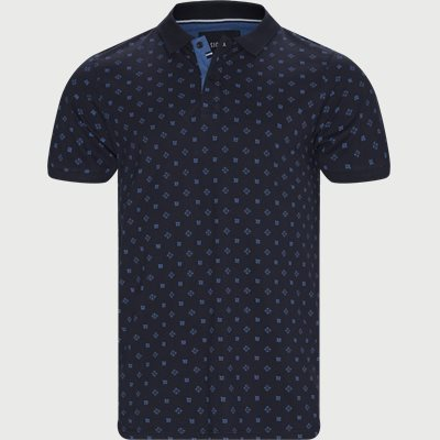 Oakley Print Polo T-shirt Regular | Oakley Print Polo T-shirt | Blå