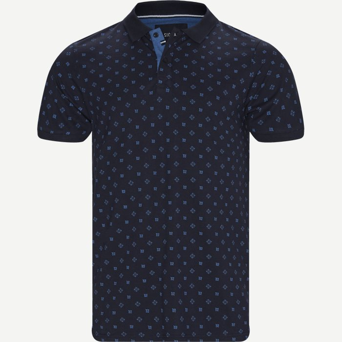Oakley Print Polo T-shirt - T-shirts - Regular - Blå