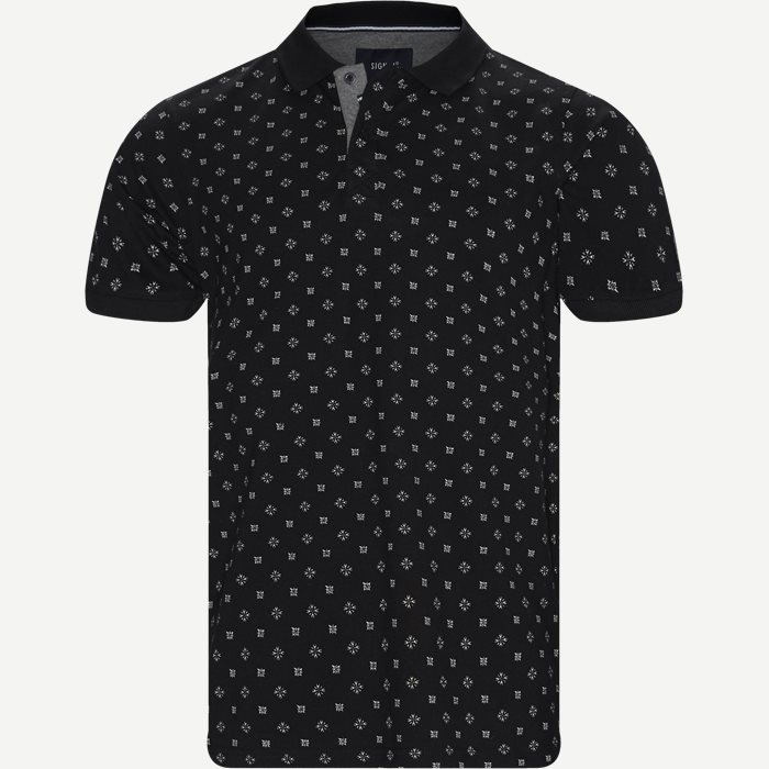 Oakley Print Polo T-shirt - T-shirts - Regular - Sort