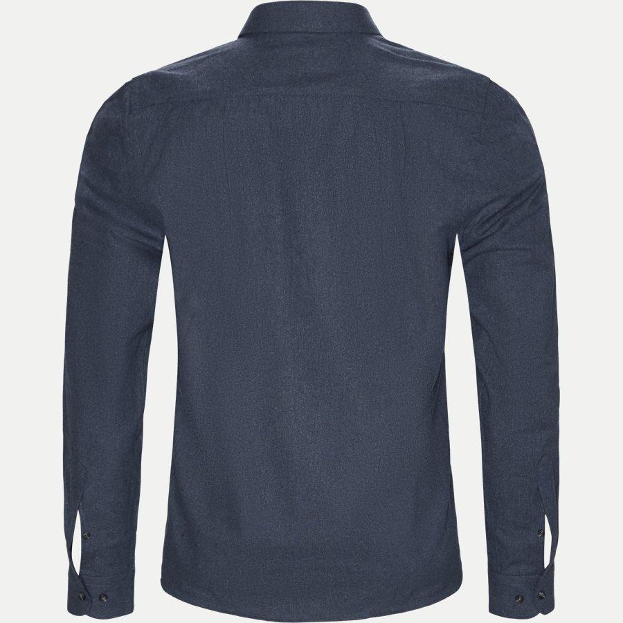 15340 1441 - Nash CP Melange Skjorte - Skjorter - Regular - BLÅ - 2