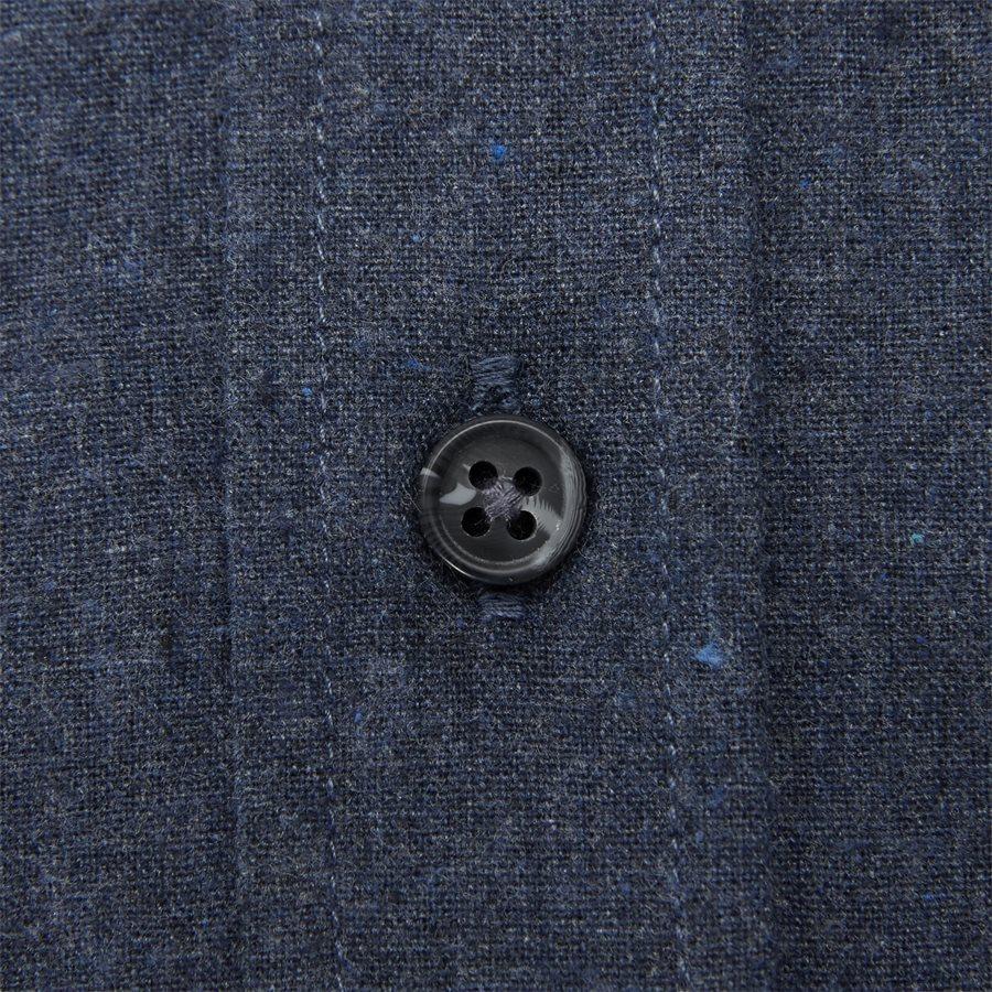 15340 1441 - Nash CP Melange Skjorte - Skjorter - Regular - BLÅ - 4
