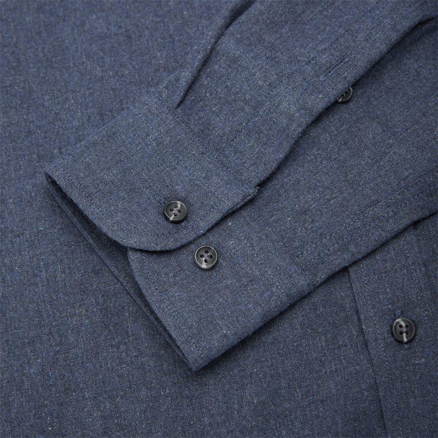 15340 1441 - Nash CP Melange Skjorte - Skjorter - Regular - BLÅ - 5
