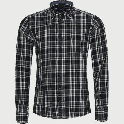 Ternet Skjorte Regular | Ternet Skjorte | Grå