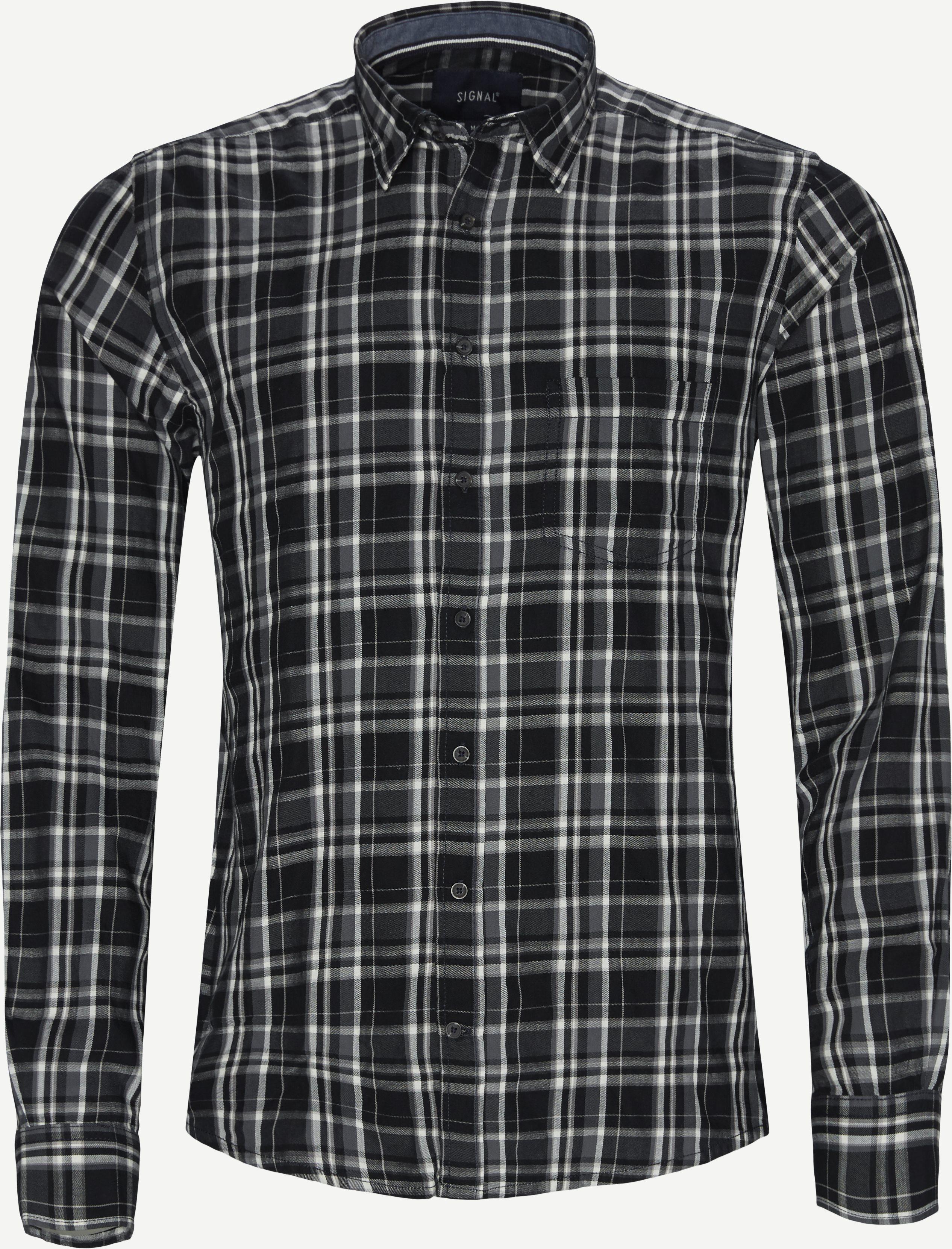 Shirts - Regular - Grey