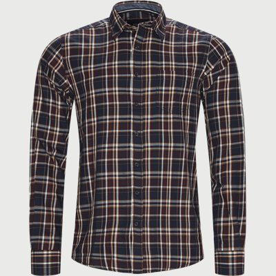 Ternet Skjorte Regular | Ternet Skjorte | Blå