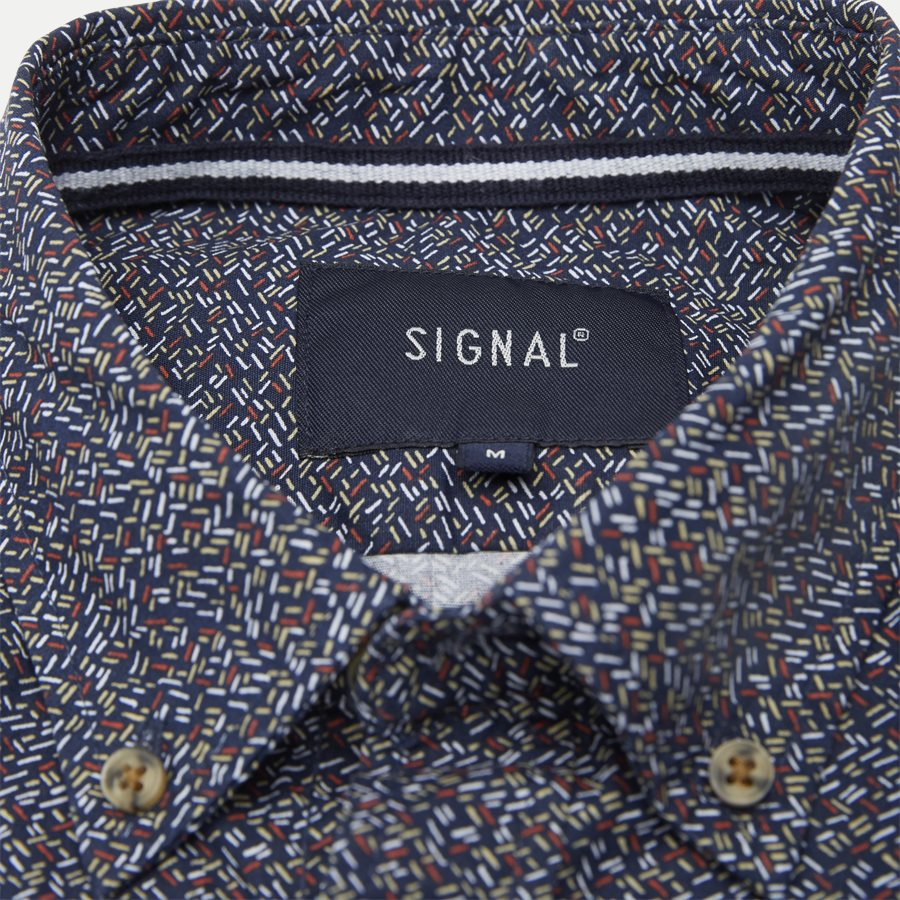 15370 0 - Neil Print CP Easy Skjorte - Skjorter - Regular - BLÅ - 4