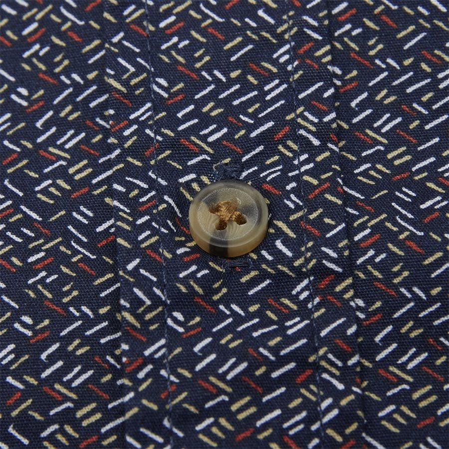 15370 0 - Neil Print CP Easy Skjorte - Skjorter - Regular - BLÅ - 6