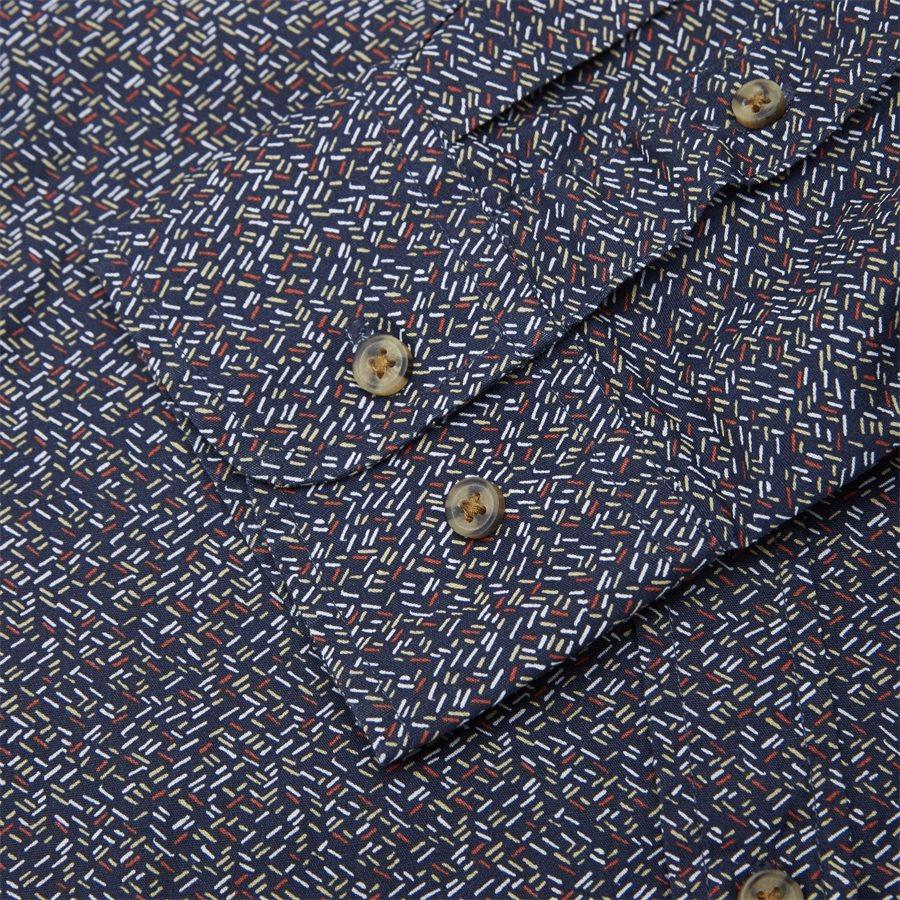 15370 0 - Neil Print CP Easy Skjorte - Skjorter - Regular - BLÅ - 7