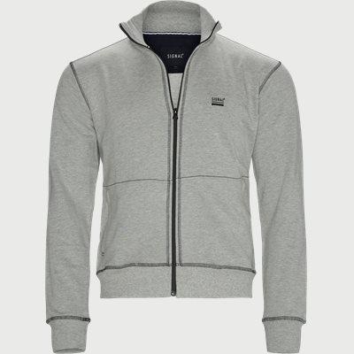 Raven Full Zip Sweatshirt Regular | Raven Full Zip Sweatshirt | Grå