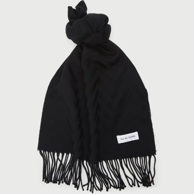 Halstørklæde Halstørklæde | Sort