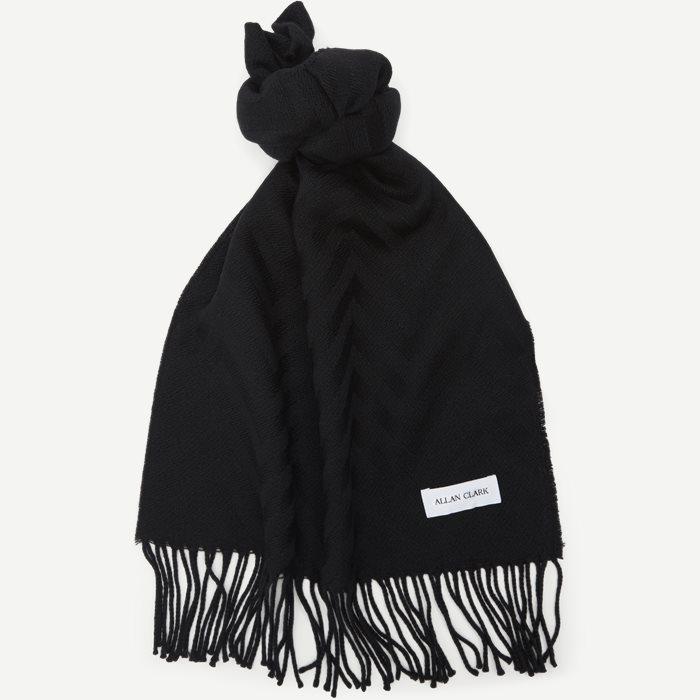 Halstørklæde - Tørklæder - Sort