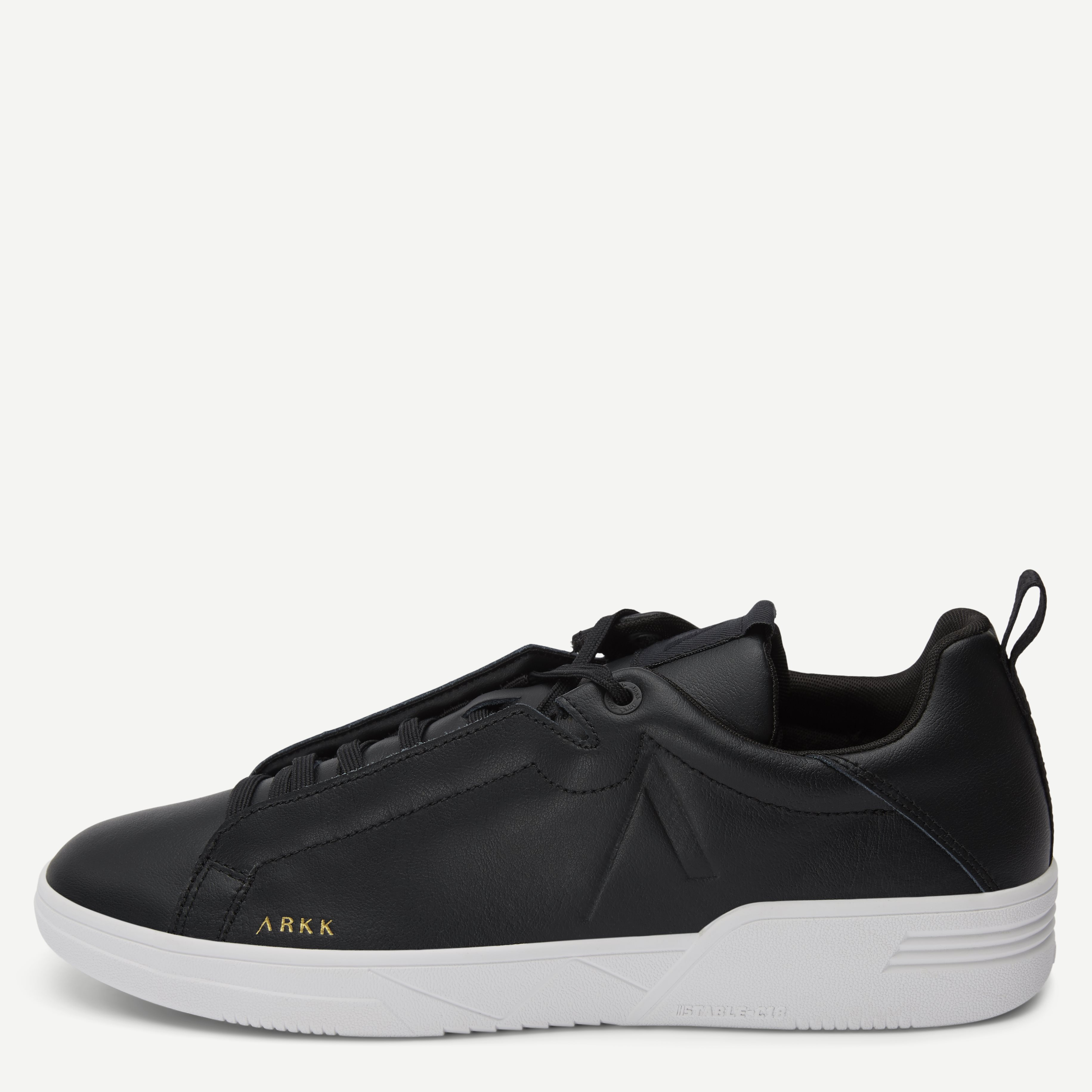 Uniklass Leather Sneaker - Sko - Sort