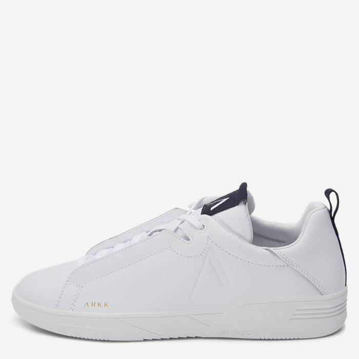 Uniklass Leather Sneaker - Sko - Hvid