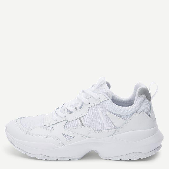 Quantm Leather T-G9 Sneaker - Sko - Hvid