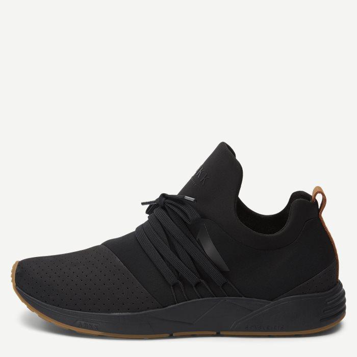 Raven Nubuck S-E15 Sneaker - Sko - Sort