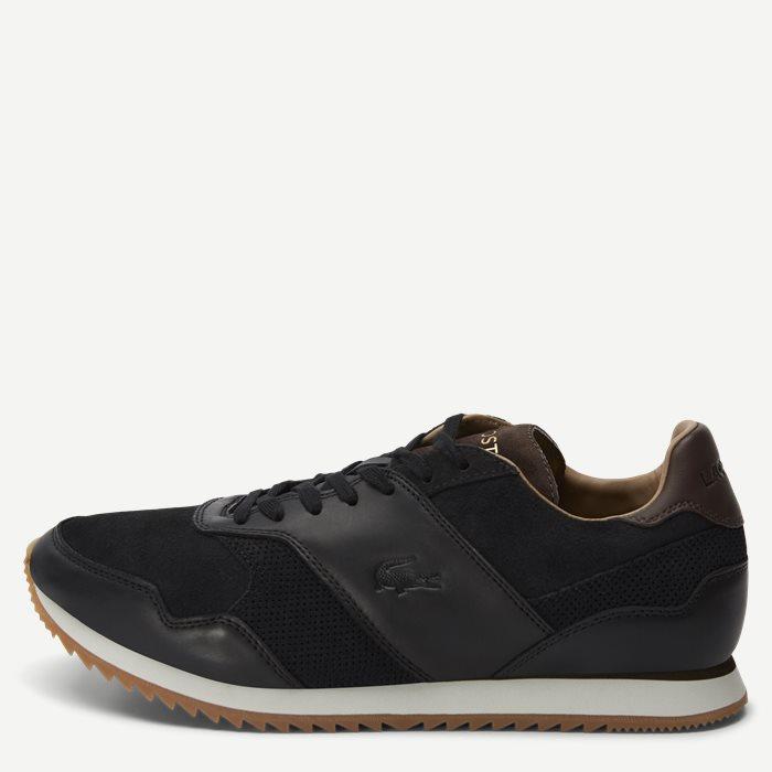 Aesthet Luxe Suede Sneaker - Sko - Sort
