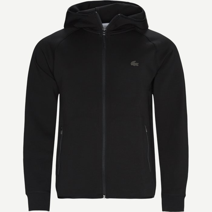 Motion Hooded Zip Sweatshirt - Sweatshirts - Regular - Sort