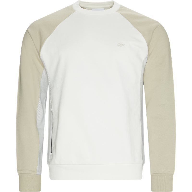 Image of   Lacoste - Colourblock Crew Neck Sweatshirt