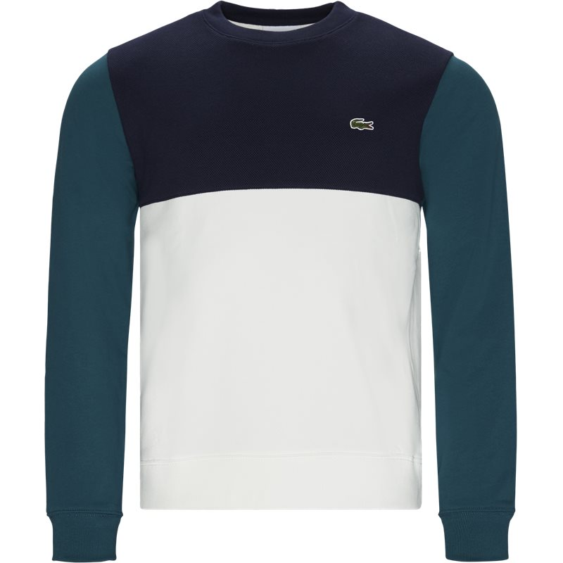 Image of   Lacoste - Colourblock Cotton Sweatshirt