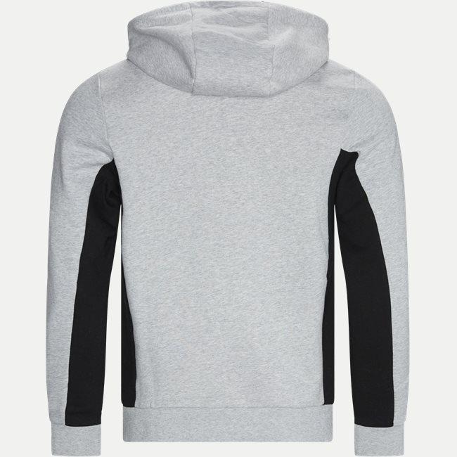 Two-Tone Fleece Hoody Sweatshirt