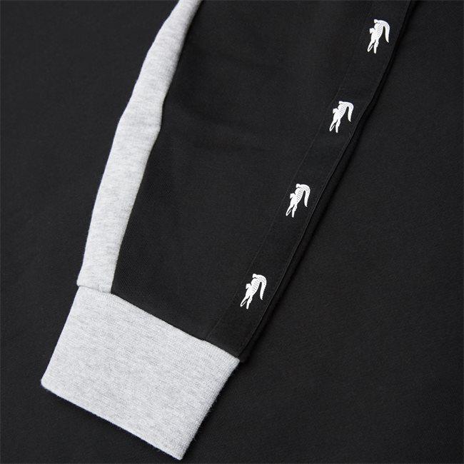 Two-Tone Fleece Crew Neck Sweatshirt