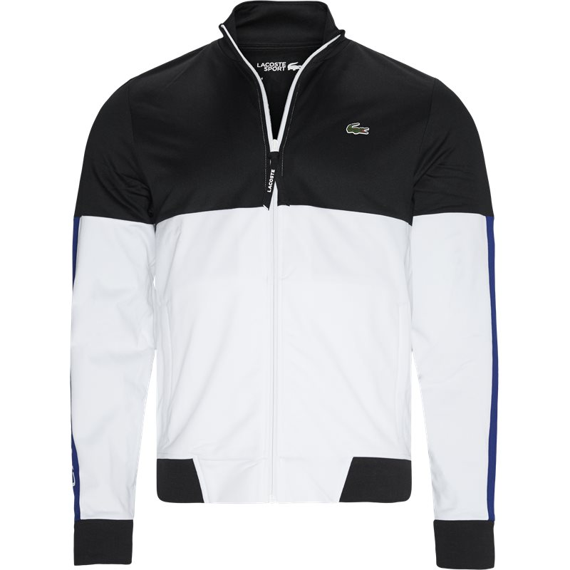 Image of   Lacoste - Colourblock Resistant Piqué Zip Sweatshirt