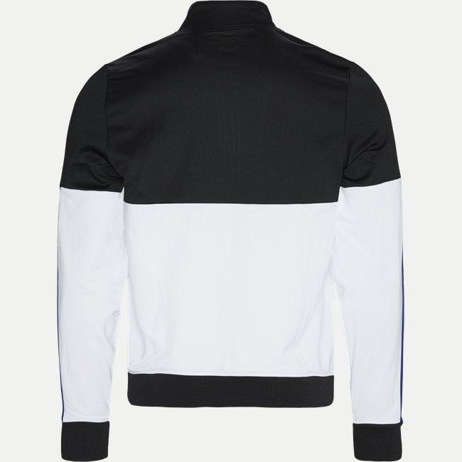 Colourblock Resistant Piqué Zip Sweatshirt