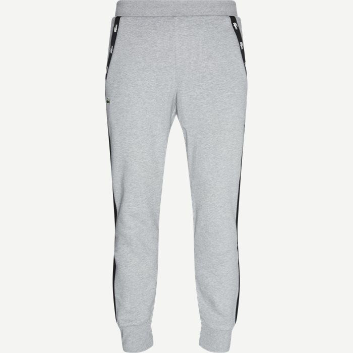 Two-Tone Fleece Trackpants - Bukser - Regular - Grå