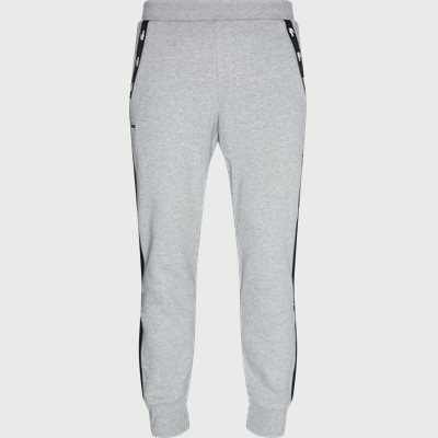 Two-Tone Fleece Trackpants Regular | Two-Tone Fleece Trackpants | Grå
