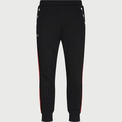 Two-Tone Fleece Trackpants Regular | Two-Tone Fleece Trackpants | Sort