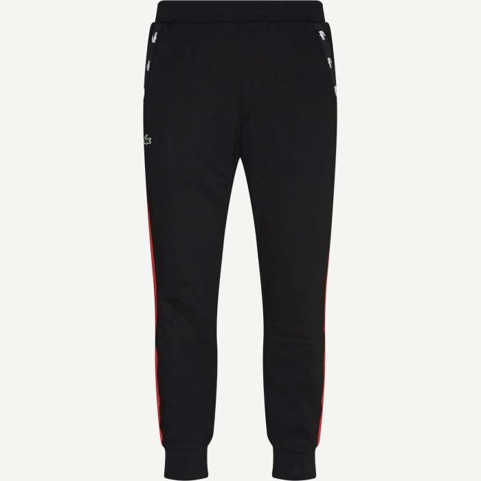 Two-Tone Fleece Trackpants - Bukser - Regular - Sort