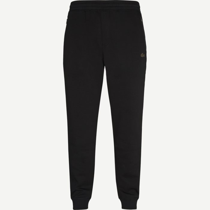 Motion Stretch Cotton Trackpants - Bukser - Regular - Sort