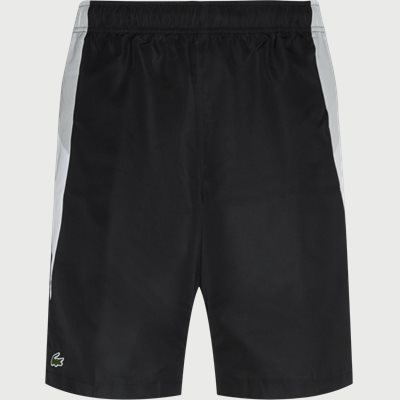 Colourblock Cut-Out Tennis Shorts Regular | Colourblock Cut-Out Tennis Shorts | Sort