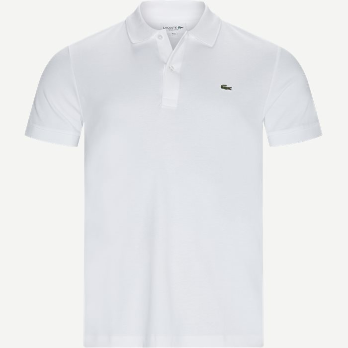 Polo Regular Fit T-shirt  - T-shirts - Regular - Hvid