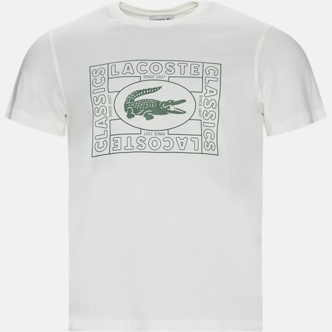Crocodile Print Crew Neck T-shirt