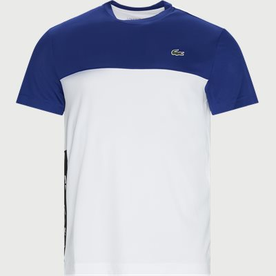 Colourblock Breathable Piqué T-shirt Regular |  Colourblock Breathable Piqué T-shirt | Blå