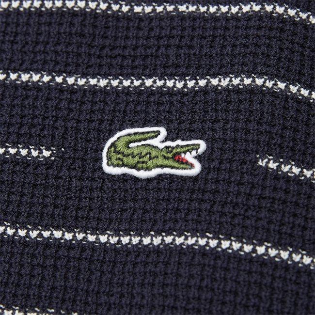 Striped Textured Cotton Sweater