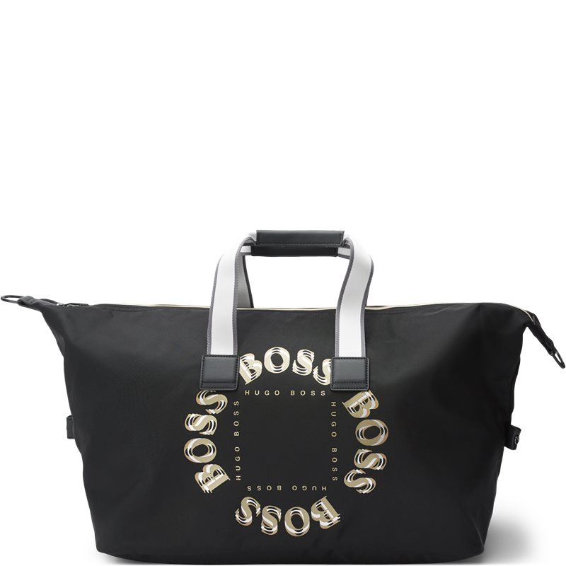 Image of Boss Athleisure - Pixel Holdall Logo Bag