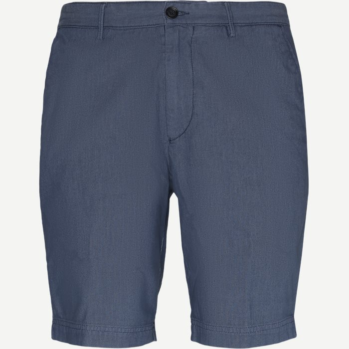 Slice Short - Shorts - Slim - Blå
